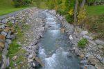 Dala, ruisseau à l'entrée de Leukerbad