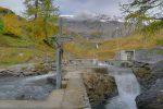 La prise d'eau du Bisse de Tsittoret dans La Tièche.