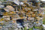 Détail de la ruine de Roti Hittu