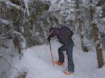 Le secteur est pentu pour les skieurs !
