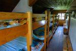 Le dortoir, le refuge compte 70 places, j'ai dû rater un dortoir ou je ne comprends rien !