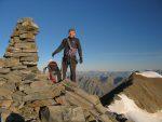 Christian au sommet du Balfrin 3795m