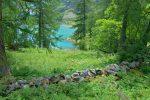Avec une belle vue sur le lac