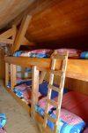 Puis dortoirs de l'ancienne cabane