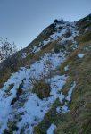 Malgré la neige, les cailloux offraient des bons appuis.