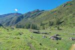 Le vallon de Valsorey, on monte à gauche pour Cordonna