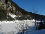 Le Lac de Tanay gelé, 1408m