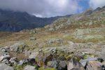 Puis on va monter en direction du Col de la Terrasse, actuellement sous les nuages.