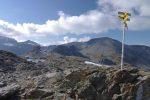 ... pour arriver au col de la Terrasse, 2640m, la vue s'ouvre.