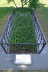 La tombe de Calvin. Par contre on ne sait pas où il fut enterré !