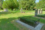 La tombe de Calvin, à gauche le tombeau des Pictet.
