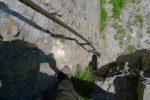 Et le passage câblé d'Etiollets. Il faut sauter en bas, le câble n'y allant pas !