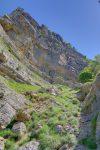 Le haut de la Gorge de la Grande Varappe