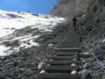 Ces escaliers sont bien faits, joli travail