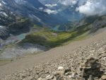 Le lac glaciaire et Oeschinensee