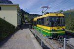 Et on s'arrête à la gare d'Alpiglen, 1616m