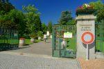 Une des entrée du Jardin Botanique de Genève