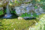 Les Rocailles, cascade.