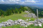 La Suite, le sommet de la Pointe de Fin Château au fond