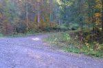 Pt1228, je quitte la route (on peut y rester) pour un chemin de traverse et rejoindre le chemin pédestre