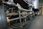 Détail de la première locomotive