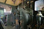 Détail de la seconde locomotive, poste de conduite
