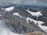 Vue sur les Petites Roches et La Merla