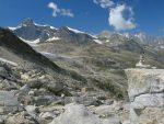 Vue sur le glacier de Seemjinen