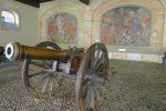 En partant vers le parc des Bastions, je passe devant ces canons