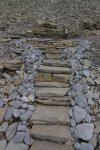 Décoration pour des marches d'escaliers qui mènent nulle part !