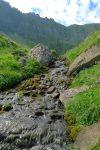 La petite cascade issue du Lac de Tavaneuse