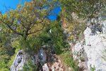 Le meilleur morceau de la balade, la montée à travers ces rochers