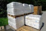Le stock de sel de Bex et de planche pour l'entreposage