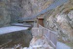 Le site touristique des Gorges du Trient