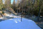Le zoo, ouvert en hiver (automate à l'entrée)