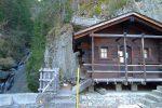 La visite est fermée pour cause de chutes de pierre