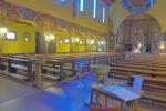 L'intérieur de l'église.