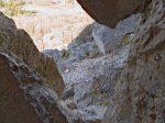 Il est possible de monter et traverser la Roche Fendue, mais le rocher est patiné