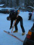 Et on rejoint le parking après avoir passé devant le skilift.