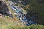 Les installations hydrauliques vers La Gouille
