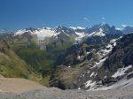 Mais la vue est superbe sur le glacier du Tour et d'Argentière