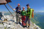 L'équipe du jour, moi, Anne-Sophie et Nicolas