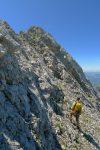 Dernière partie pentue pour le sommet du Pt2473