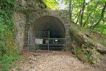 Le tunnel, reste de la ligne de ferroviaire