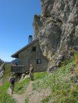 La cabane de la Videmanette, 2130m. On capte du réseau !