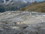 Le bas du glacier.
