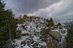 Le sommet du Mont de l'Arpille, 2085.2m