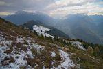 Puis nous reprenons le chemin de la montée, pas terrible vu la neige et en plus d'autres skieurs montent