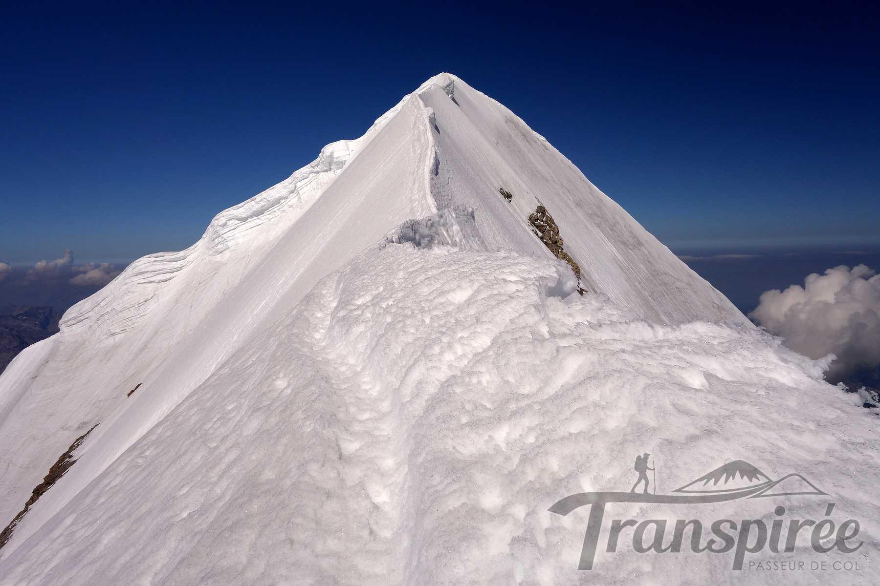 Alpinisme au Mönch depuis la Mönchsjochhütte et l'arête SE