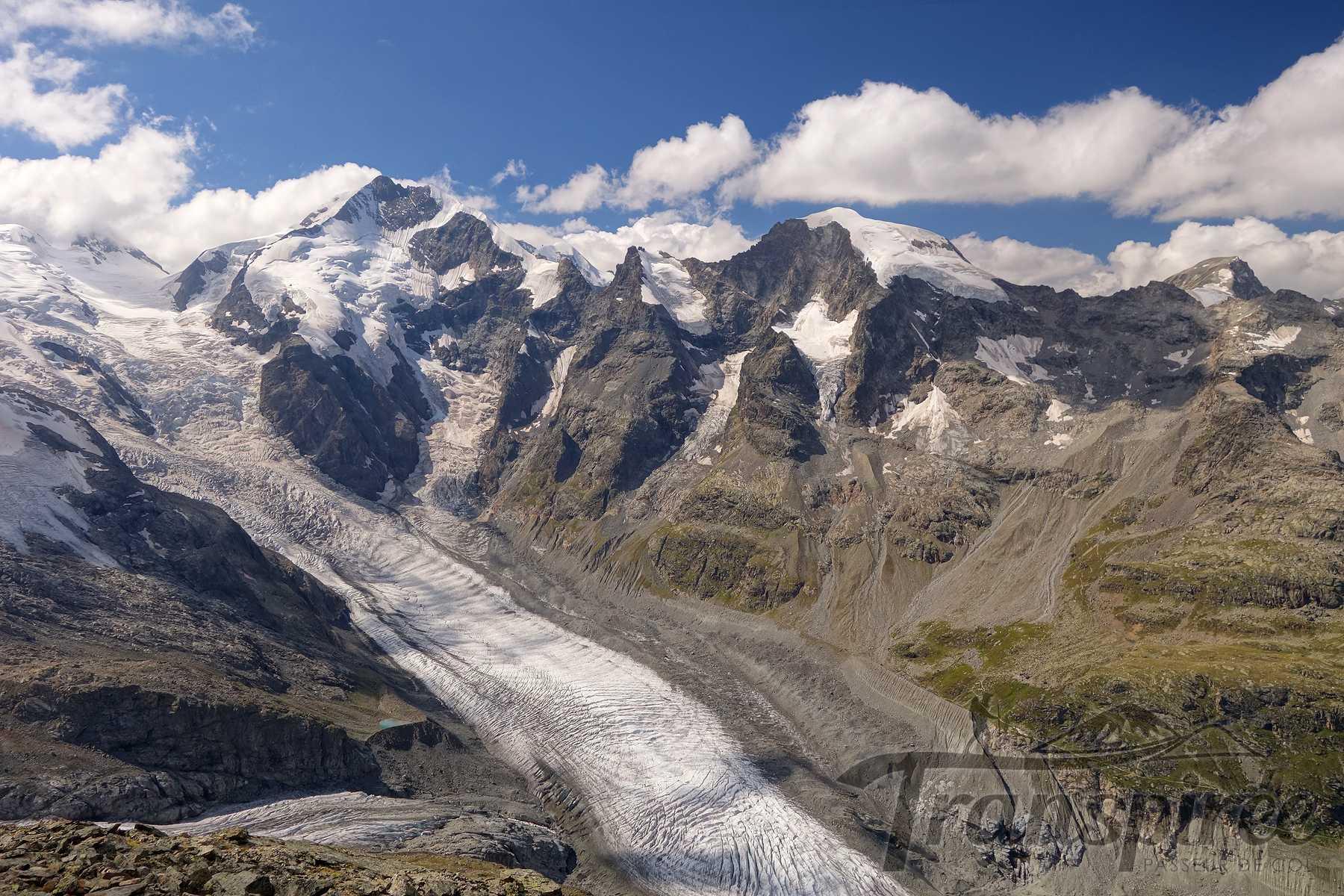 Randonnée au Munt Pers depuis Bernina Diavolezza